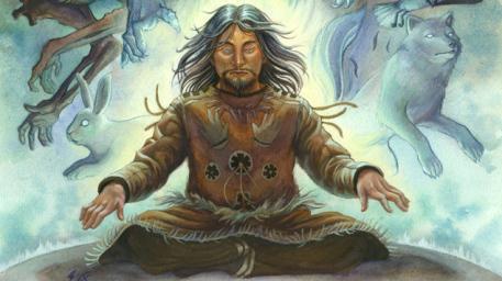 A spirit shaman