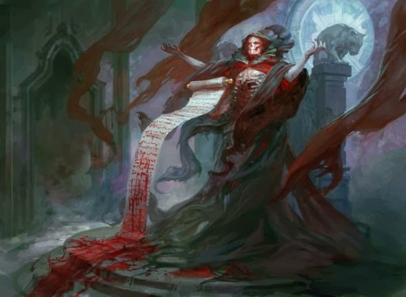 Blood Mage, Image by Wizards of the Coast