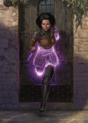 A ghost archtype rogue, Image by Wizards of the Coast