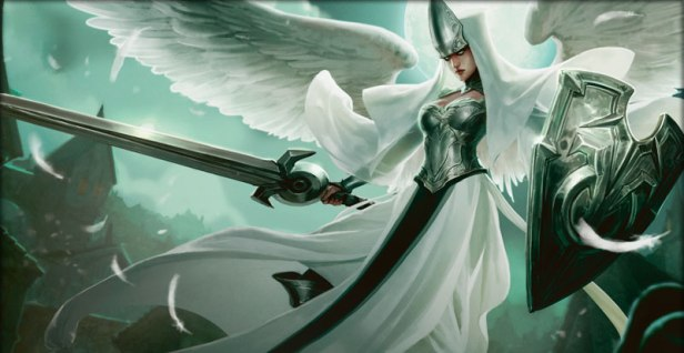 Sorcerer with angelic blood, Image by Wizards of the Coast