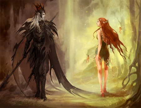 Unseelie and Seelie Courts, Image by Wizards of the Coast