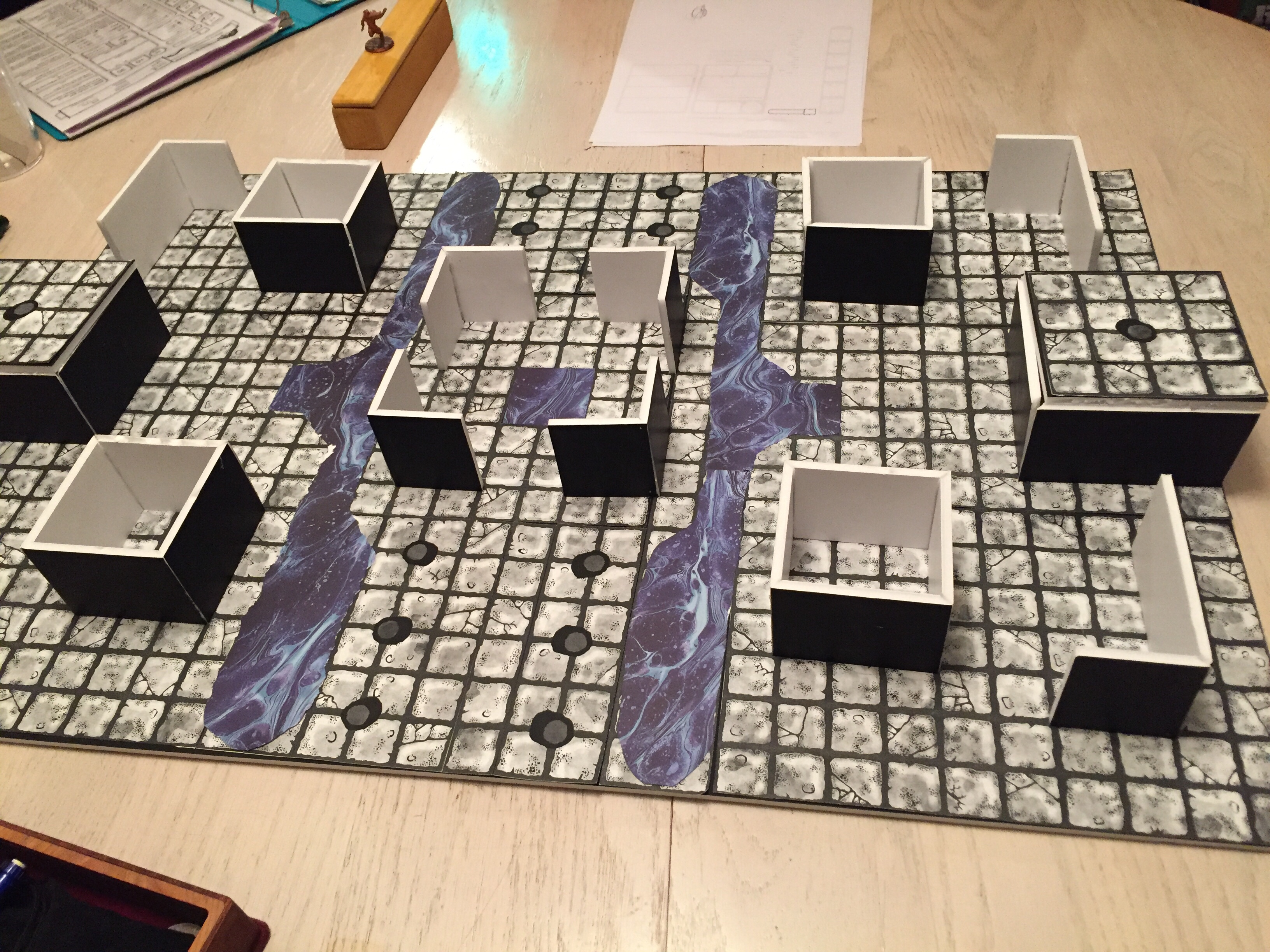 Death By Review] Modular Dungeon Tiles by Axebane Games