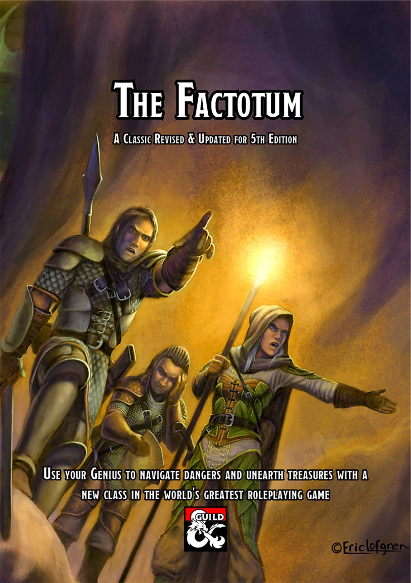 The Factotum class – the Jack-of-All-Trades returns to D&D