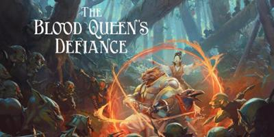 Blood Queen's Defiance cover art